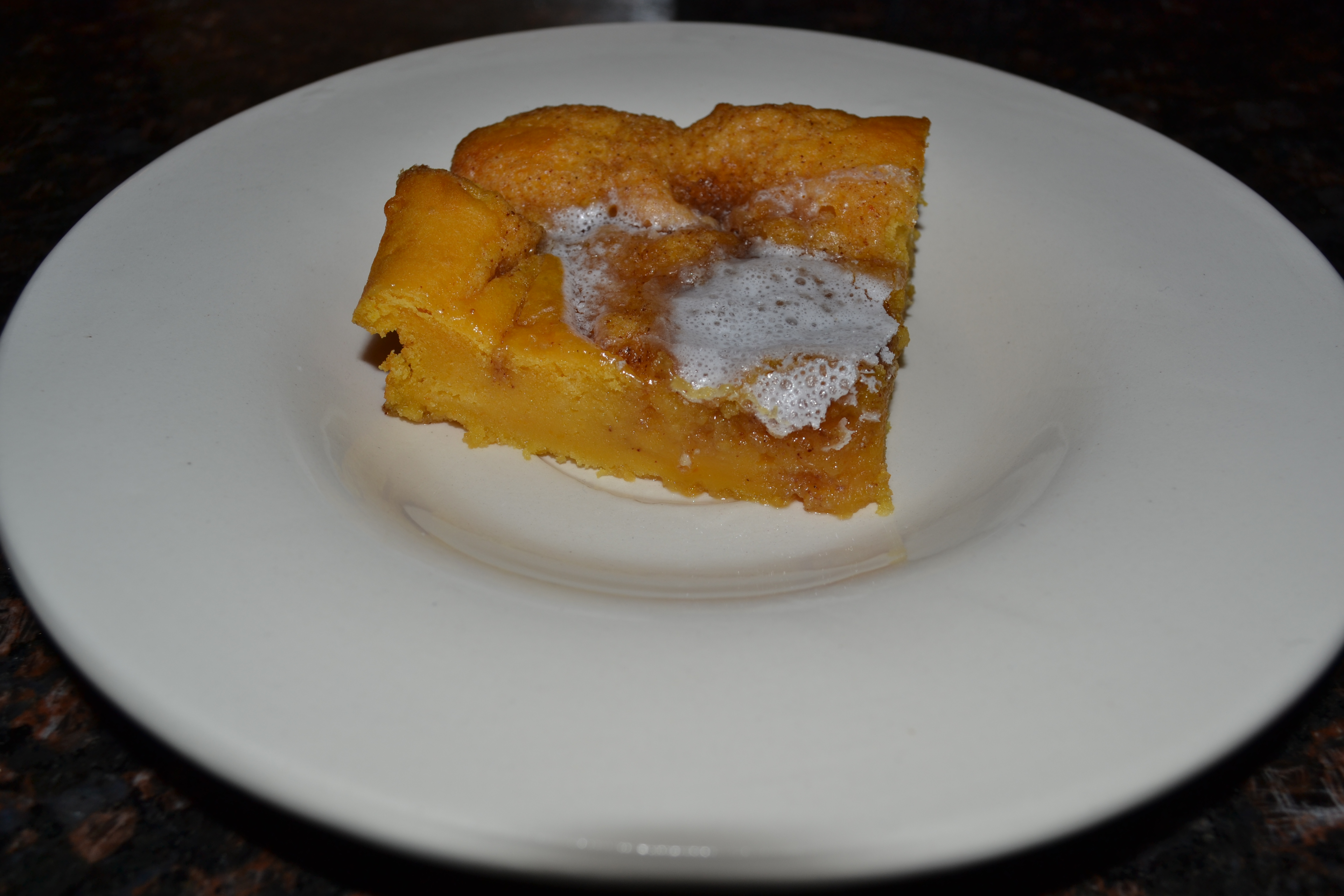 Baked Pumpkin And Sour Cream Puddings Recipe — Dishmaps